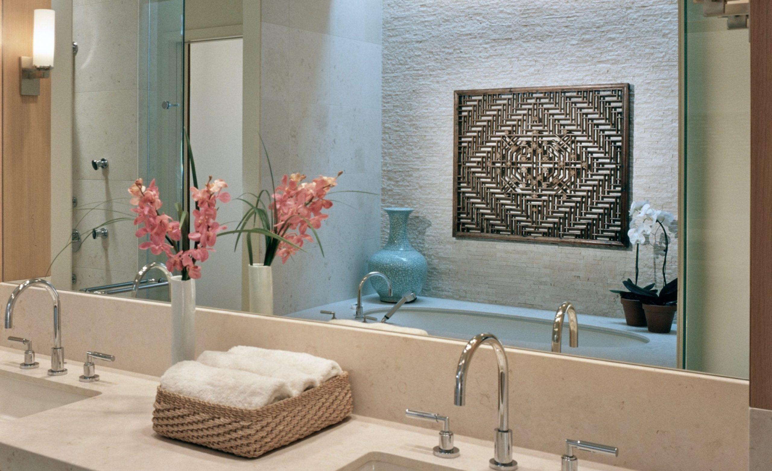 Contemporary Lodge Master Bathroom Vanity